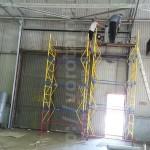 Промышленные подъемно-секционные ворота. Объект ДО