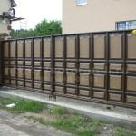 Раздвижные ворота Каскад.
