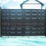 Распашные ворота Каскад. Фото №11