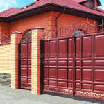 Распашные ворота Каскад. Фото №12