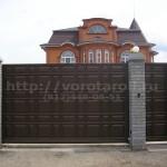 Откатные ворота Каскад. Фото №13