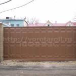 Откатные ворота Каскад. Фото № 20