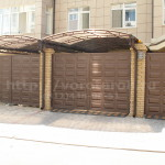 Распашные ворота Каскад. Фото № 21