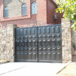 Распашные ворота Каскад. Фото № 23