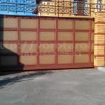 Откатные элитные ворота Каскад. Фото № 33