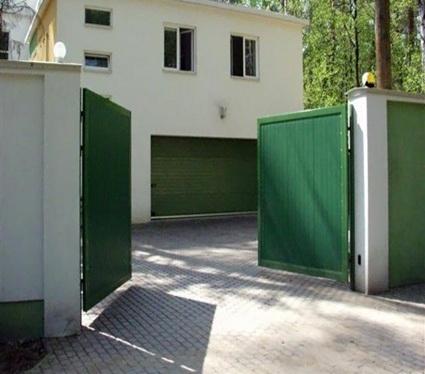 Изготовление ворот гаражных распашных