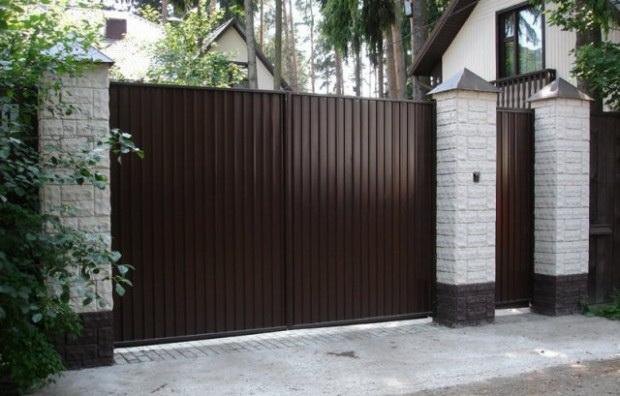 Ворота и калитка для дачи